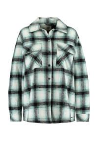 America Today geruite blouse Julie groen, Groen