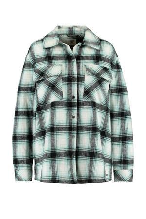 geruite blouse Julie groen