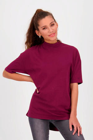 top Hamira 628 bordeaux red