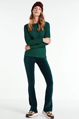 flared legging Sahana fir green