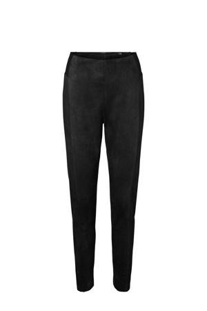 imitatiesuède legging zwart