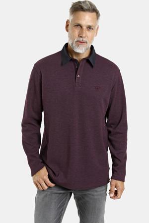 gemêleerde sweater Olan aubergine