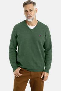 Jan Vanderstorm fijngebreide trui Plus Size Espen groen, Groen