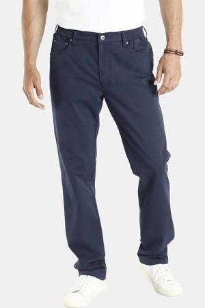 loose fit broek Plus Size Dag donkerblauw