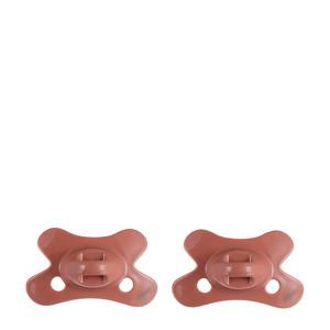 fopspeen Natural 0-6 mnd (2 stuks) - Brick
