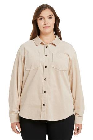corduroy blouse ecru