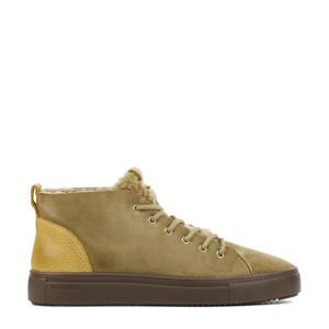 QL48   suède sneakers camel