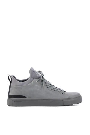 SG18  suède sneakers grijs