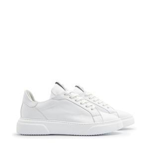 5401010  leren sneakers wit