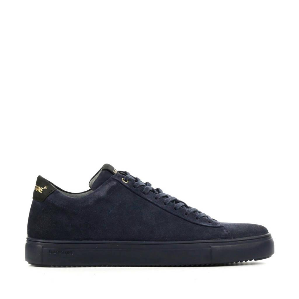Blackstone SG20  suède sneakers donkerblauw, Donkerblauw