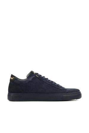 SG20  suède sneakers donkerblauw