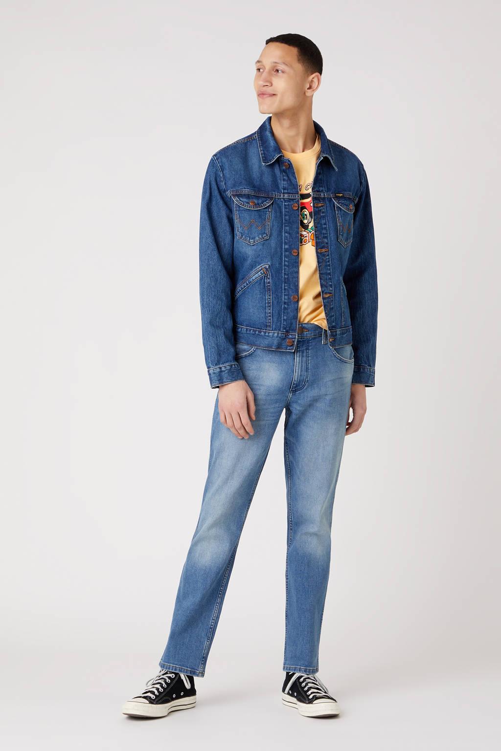 Wrangler regular fit jeans Greenboro blue fever, Blue Fever
