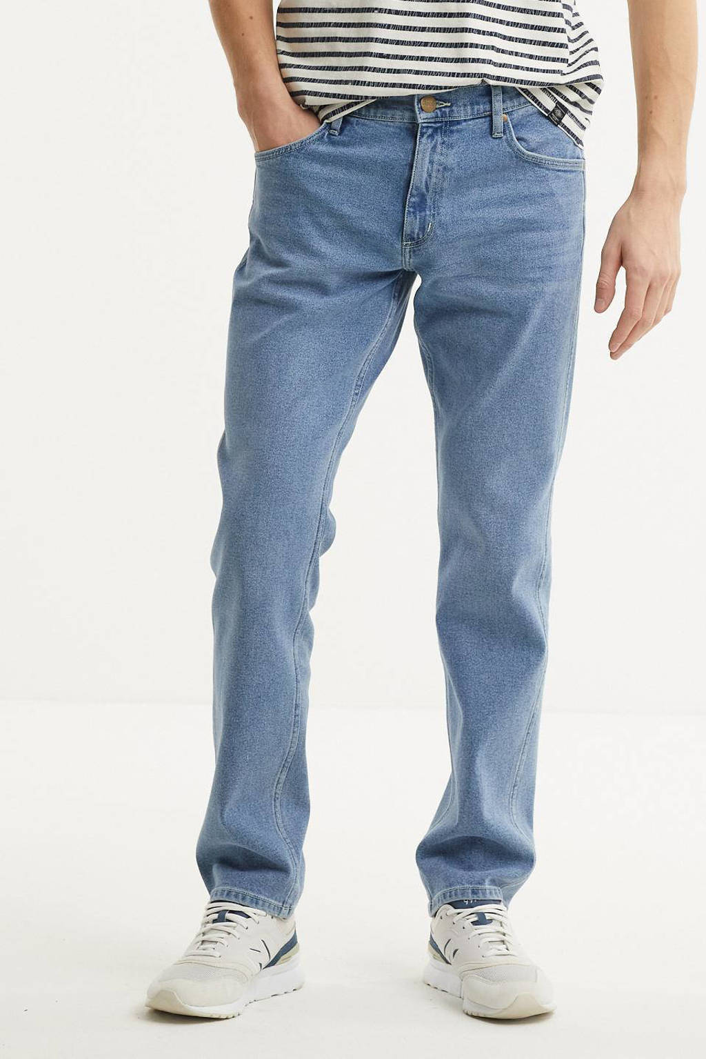 Wrangler straight fit jeans Greensboro moonstone, Moonstone