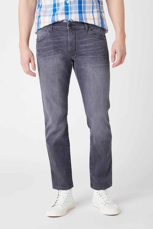Wrangler straight fit jeans GREENSBORO grey dust, GREY DUST