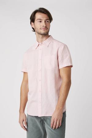 regular fit overhemd lichtroze