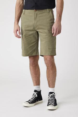 regular fit cargo short Casey kaki