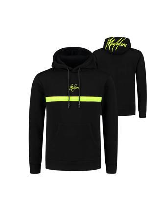 hoodie Tonny met logo zwart