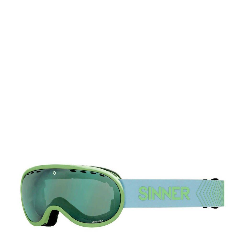 Sinner skibril Vorlage S mat groen, Mat groen