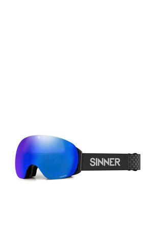 skibril Avon mat zwart