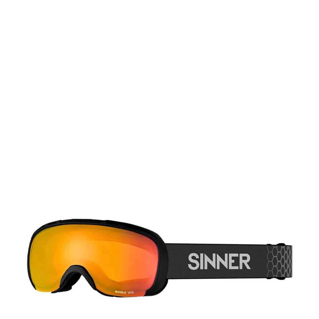 Sinner skkibril Marble OTG mat zwart, Mat zwart