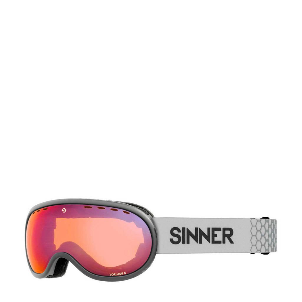 Sinner skibril Vorlage S mat lichtgroen, Mat Lichtgroen