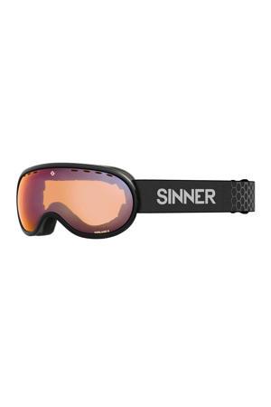 skibril Vorlage S mat zwart