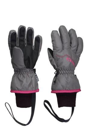 skihandschoenen Phoenix grijs/roze