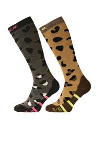 Sinner ski sokken Annimal Socks multicolor, Multicolor
