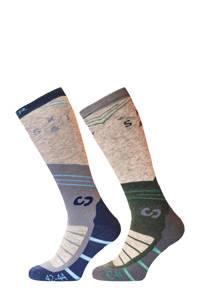 Sinner ski sokken Mountain Socks multicolor (set van 2 paar), Multicolor