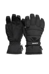 Sinner skihandschoenen Vertana zwart, Zwart
