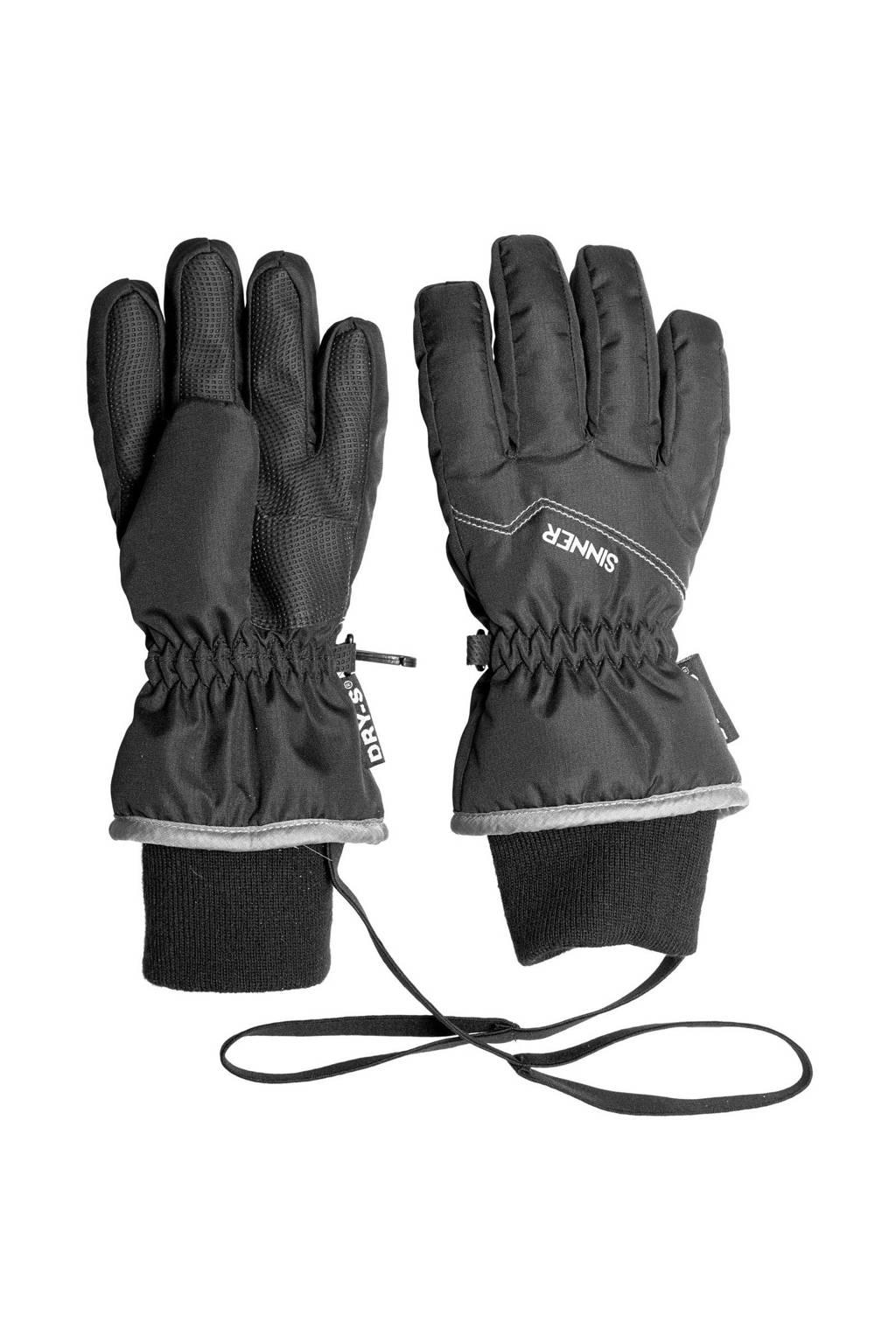 Sinner skihandschoenen Phoenix zwart/grijs, Zwart/grijs
