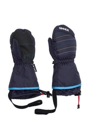 skiwanten blauw/kobaltblauw