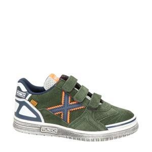 nubuck sneakers kaki