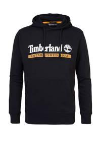 Timberland hoodie van biologisch katoen zwart multi