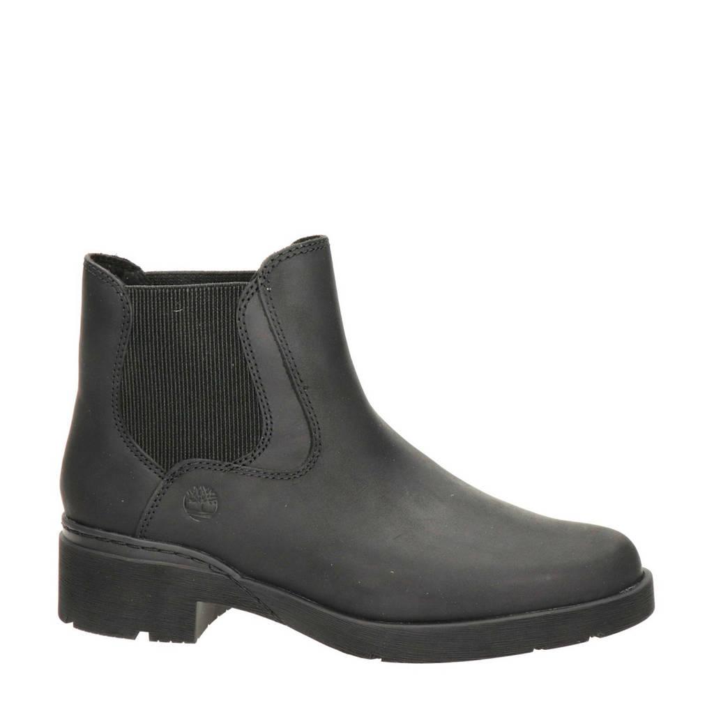 Timberland Graceyn  nubuck chelsea boots zwart, Zwart