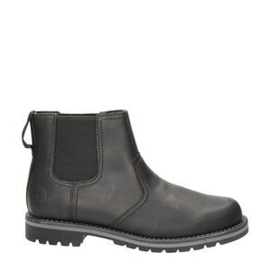 Larchmont  nubuck chelsea boots zwart