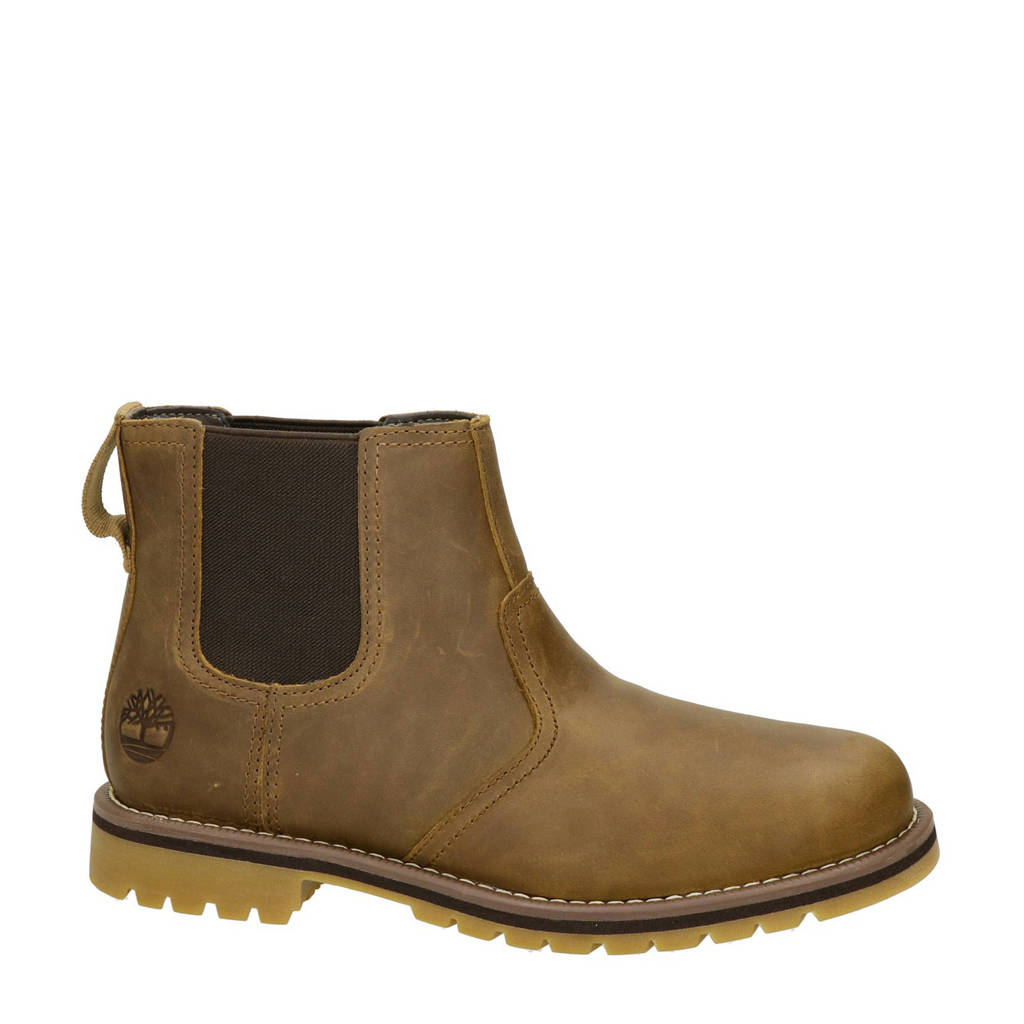 Timberland Larchmont  nubuck chelsea boots bruin, Bruin