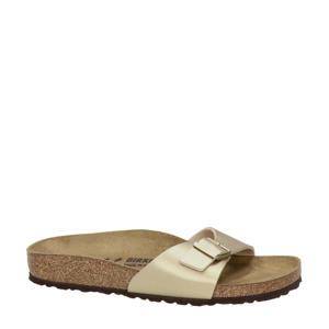 Madrid  slippers goud