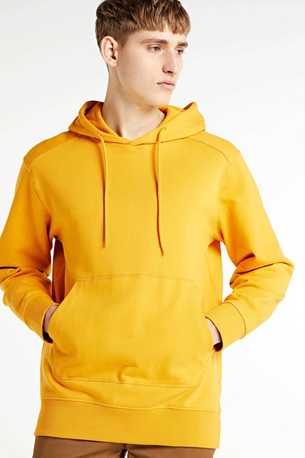 SELECTED HOMME hoodie geel, Geel