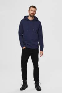 SELECTED HOMME hoodie donkerblauw, Donkerblauw