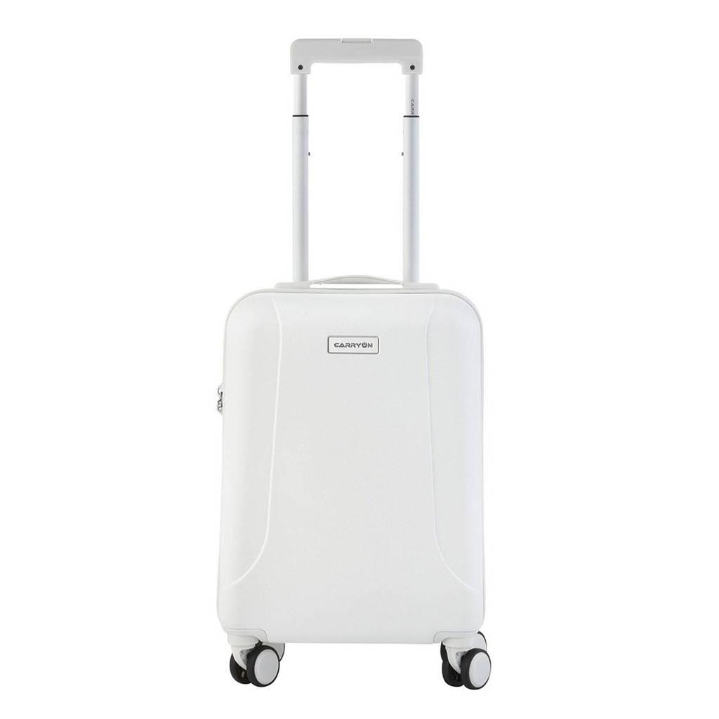 CarryOn  trolley Skyhopper 55 cm. wit, Wit