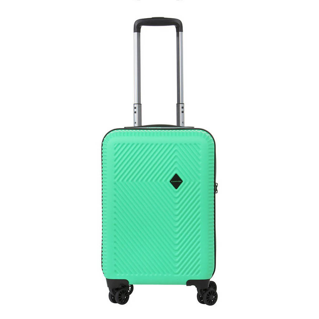 CarryOn  trolley Connect 55 cm. USB groen, Groen