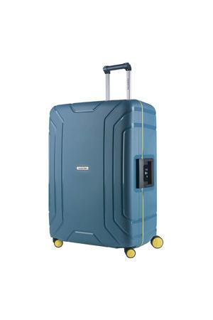 trolley Steward 75 cm. blauw