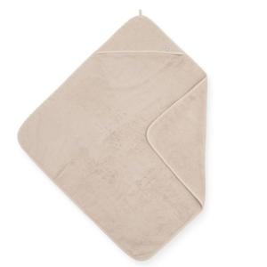 badstoffen badcape 75x75cm beige