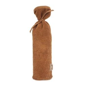 badstoffen kruikenzak 35x13 cm bruin