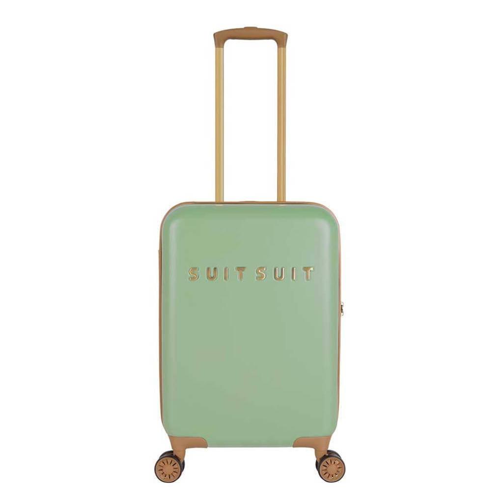 Suitsuit  trolley Fab Seventies 55 cm. groen, Groen