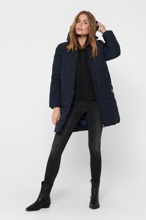gewatteerde jas Dolly donkerblauw