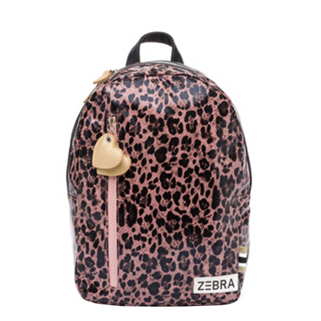 Zebra Trends  rugzak Leo M roze, Multicolor