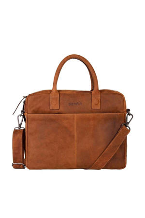"14 Wall Street Laptopbag 14"" cognac"