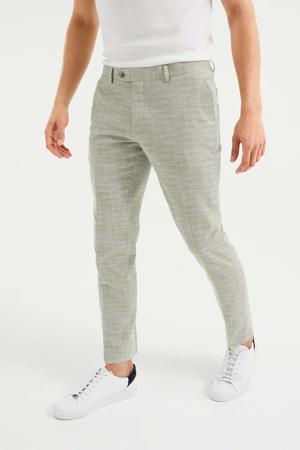 slim fit pantalon khaki